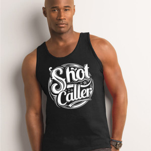 Shot Caller Men's tank black